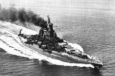 USS California BB-44 - Tennessee class Battleship