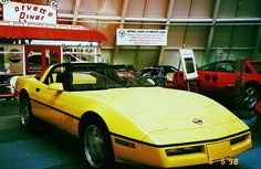 Yellow Corvette Corvette Museum  Corvette Museum in Bowling Green Ky Corvette Diner