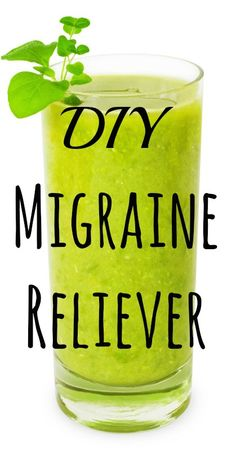 •1/2 pineapple •4-5 kale leaves •1 stick of celery •1/2 cucumber •1/4 lemon •1 teaspoon ginger root  Directions •Juice all ingredients and stir. •Drink the juice mixture immediately to relieve pain caused by a migraine