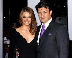 Castle & Beckett god they look so good together!! For the love of all that is good can they please just get together in real life!!!