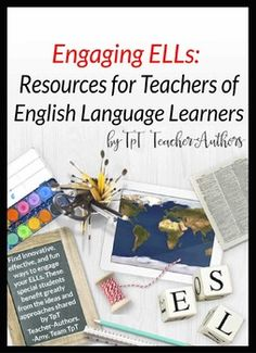 Filled with activities and ideas you can use right away, this sampler includes 20 freebies that address the needs of English Language Learners at beginning, intermediate, and advanced levels of English language proficiency.  Written by TpT teacher-authors who work with ELLs and organized by grade span ranging from PreK through Adult Education, these resources can be used in a variety of instructional programs: mainstream and ESL classes, bilingual and dual immersion programs, and adult ESL…