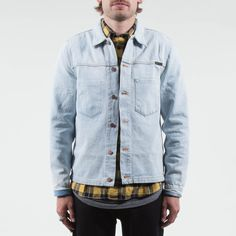 Nudie Jeans - Ronny Crispy Ocean Denim Jacket
