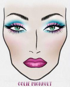 Face chart! MAC