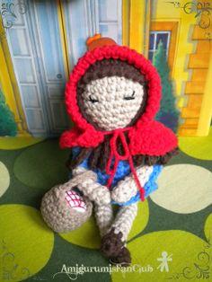 Crocheted by AmigurumisFanClub. Free pattern by Mybackyardmonsters!!! http://mybackyardmonsters.tumblr.com/post/31480559904/little-red-pattern