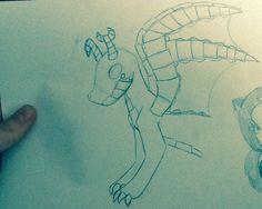 Otulissa's Dragon doodle by LauraTheKitty.deviantart.com on @deviantART