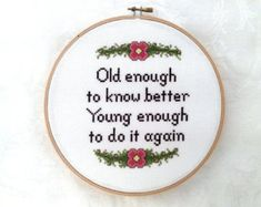Irreverent digital download cross stitch by TheCompassNeedle