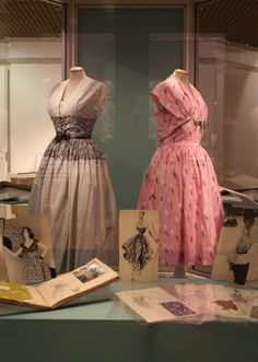 Horrockses fashions image from Lancashire Life article about 'Behind the Scenes' exhibition currently at Harris Museum, Preston. Well done Jane for finding the tulip dress....I'm sure this is mum's dress back home to Preston after a London showing. It may get reunited with its belt one day!