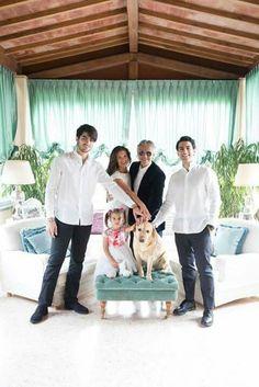 Andrea Bocelli & famiglia