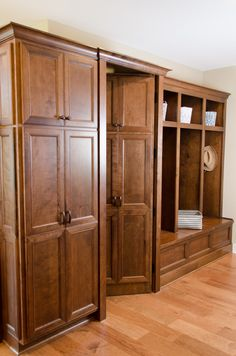 2013 Parade of Homes House - hidden pantry feature! Dining Rooms, Kitchen Dining, Hidden Pantry, Parade Of Homes, Armoire, Kitchens, Cabinet, House, Furniture