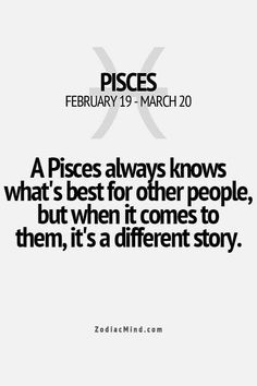 Pisces truth...
