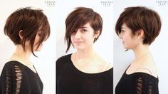 Assymetrical Short Hair Cuts