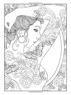 Free coloring page «coloring-adult-shoulder-tattooed-woman».