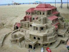 Awesome sand castle - MemePix