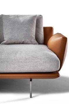 Das Beatles-inspirierte Get Back Sofa von Ludovica + Roberto Palomba – Design Milk - Dekoration Ideen Sofa Furniture, Modern Furniture, Furniture Design, Concrete Furniture, Steel Furniture, Farmhouse Furniture, Furniture Stores, Cheap Furniture, Rustic Furniture