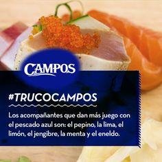 Si te gusta jugar con combinaciones de sabores curiosos, ¡éste es tu #TrucoCampos!