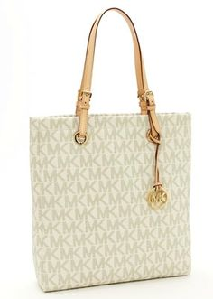 Special Price For Christmas 68 95 Michael Kors Logo Tote Vanilla