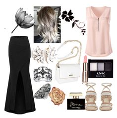 """""""Untitled #11"""" by almira-mustafic ❤ liked on Polyvore featuring Nine West, Palm Beach Jewelry, Thomas Sabo, NYX and Dolce&Gabbana"""