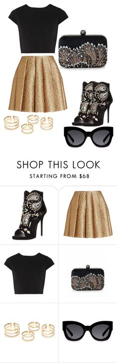 """""""Be Stylish"""" by dzenita-219 on Polyvore featuring Giuseppe Zanotti, Creatures Of The Wind, Alice + Olivia and Karen Walker"""