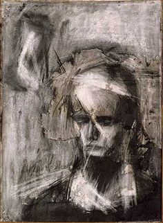 Frank Auerbach - Head of Julia Oil on Canvas. Frank Helmut Auerbach (born April is a painter born in Germany. He has been a naturalised British citizen since 1947 Frank Auerbach, Life Drawing, Painting & Drawing, Painting Prints, Leon Kossoff, Neo Expressionism, A Level Art, Art Database, Fine Art