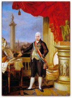 A Aclamação do Rei Dom Joao VI no Rio de Janeiro em 06 de fevereiro de 1818. Debret, Jean Baptiste, 1768-1848.   http://sergiozeiger.tumblr.com/post/110826768788/historia-politica-brasileira-1808-e-1822  No registro visual da Coroação do Rei Dom Joao VI no Rio de janeiro em 06 de fevereiro de 1818, o pintor Jean Baptiste Debret redistribui e simplifica os atributos visuais que o pintor Louis David usou no quadro da coroação do imperador Napoleão I em02 de dezembro de 1804 numa representação.