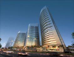 Dubai Waterfront, Skyscraper, Multi Story Building, Luxury, City, Design, Skyscrapers, Cities