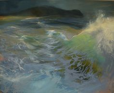 Tiree Wave by Beth Robertson Fiddes I love the subtle colours and light in this painting