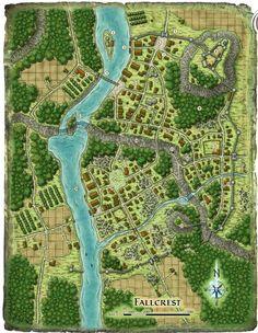 rpg + battlemap + village - Recherche Google