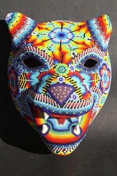 Imágenes Huichol Art Jaguar