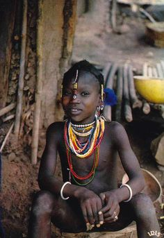 Africa | A Senegalese child | Scanned postcard; publisher IRIS