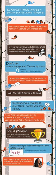 Twitter: do and don't