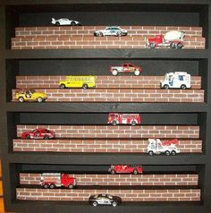 Display Case For Matchbox Cars / Hot Wheels / Die Cast Models / Collectibles