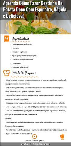 Receita De Cestinha De Batata Doce... ➡ https://segredodefinicaomuscular.com/aprenda-como-fazer-cestinha-de-batata-doce-com-espinafre-rapida-e-deliciosa/  Gostou? Compartilhe com seus amigos...  #receitasfit #EstiloDeVidaFitness #ComoDefinirCorpo #SegredoDefiniçãoMuscular