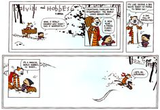 On Gratitude: DAY 33: CALVIN & HOBBES - Exploring and Imagination