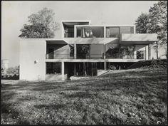 Afbeelding van woning Van Slobbe, Heerlen, 1964, westkant