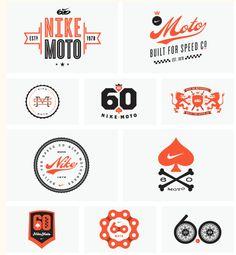 Allan Peters  Nike 6.0 Motocross logos  http://cargocollective.com/peters#1702513/Nike-6-0-Motocross