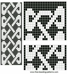 Celtic bead pattern.
