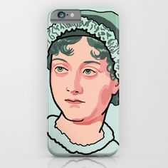 Jane Austen iPhone and iPod cases