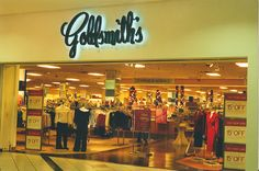 """GOLDSMITH'S Department Store - A Memphis one-of-a-kind store owned & run by the Goldsmith family until it was sold in the early 90s. It was never the same after that. Now it is completely owned & operated by Macy's which called it Goldsmith's-Macy's for a few years, but that didn't fool Memphians.  They eventually dropped the """"Goldsmith's"""".  We still miss you, Goldsmith's. There could never be another ♥"""