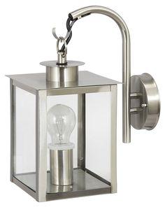 Ranex Phoenix 5000.439 Wall Lamp Grey Metal and Glass