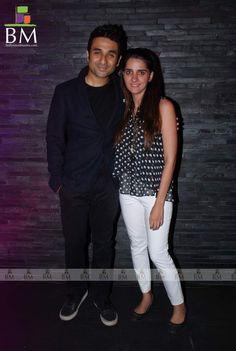 Shruti Seth and Vir Das