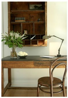 Wonderful desk! | the Polished Pebble: Designers that Inspire: Nancy Fishelson