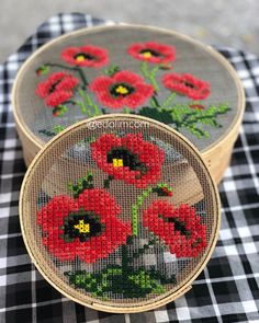 Embroidery Designs, Wool Embroidery, Modern Embroidery, Ribbon Embroidery, Cross Stitch Embroidery, Cross Stitch Art, Cross Stitch Flowers, Cross Stitching, Cross Stitch Patterns