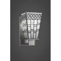 Toltec Lighting Apollo 1 Light Wall Sconce