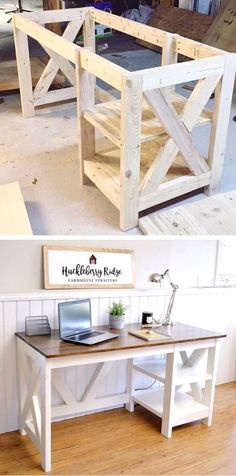 DIY Farmhouse Desk Plans That Will Make Your Home Office Pop! Need An  Office D