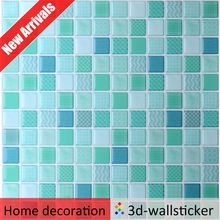 New arrival high gloss self adhesive mosaic wall tile decals