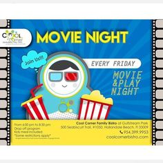 TODAY is at ! Reserve your spot and enjoy this great at pm ! Friday Movie, Hallandale Beach, Movies Playing, Halls, Kids Meals, How To Apply, Cool Stuff, Instagram, Cool Things