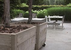 Love the planters - these would be great for herbs in our garden!