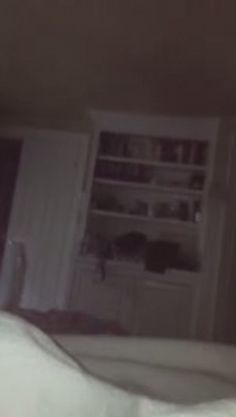 This is the spooky moment a dad claims his four year old daughter caught a ghost singing along with her