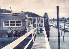 The legendary Rudy's Barge was near Town Dock Rd on New Rochelle Creek.  It was open from 1941 to about 1985.