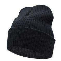Workmanship Winter Hats For Cotton Blended Hip Hop Caps Slouch Warm Hat Festival Unisex Turban Cap Solid Color Bonnet Hats Exquisite In